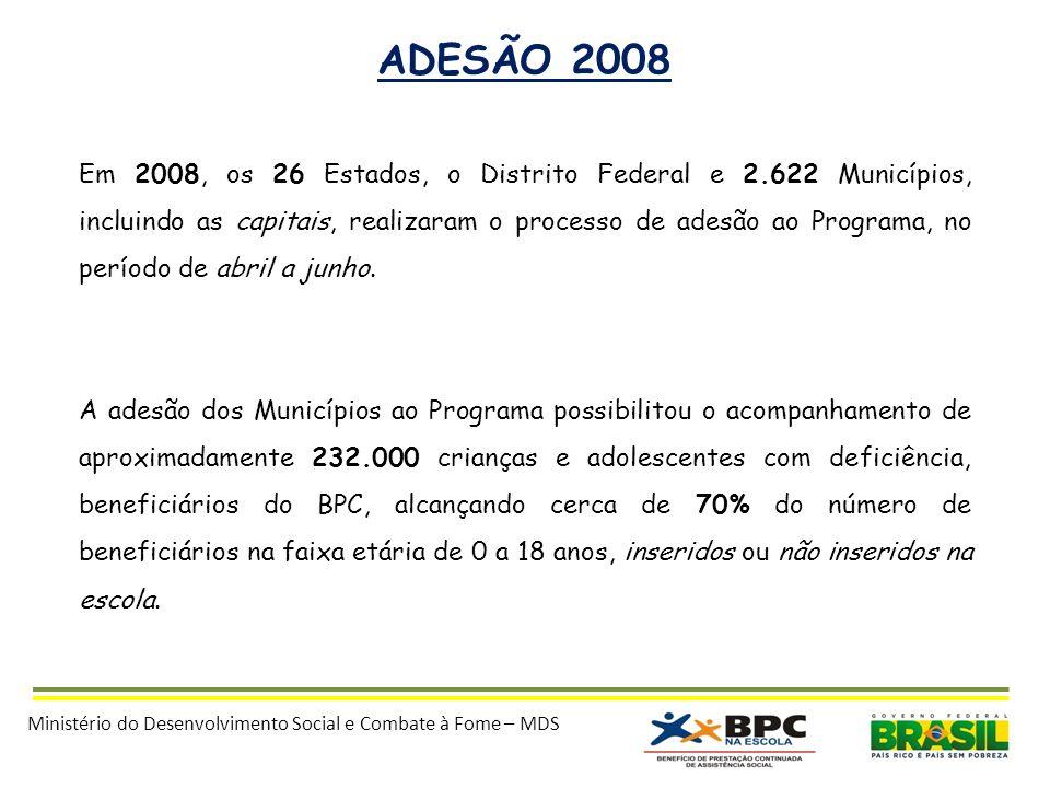 ADESÃO 2008