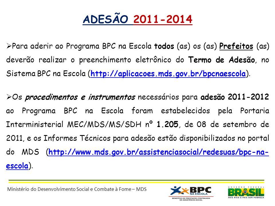 ADESÃO 2011-2014