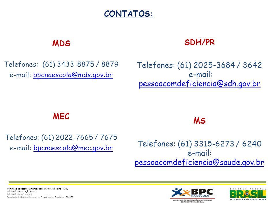 e-mail: pessoacomdeficiencia@sdh.gov.br