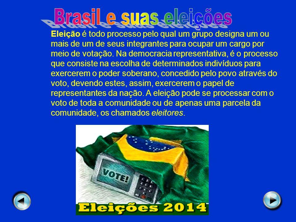 Brasil e suas eleições