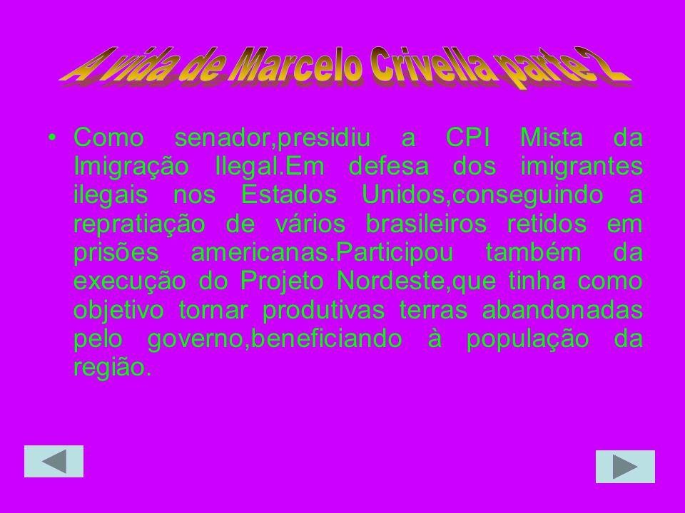 A vida de Marcelo Crivella parte 2