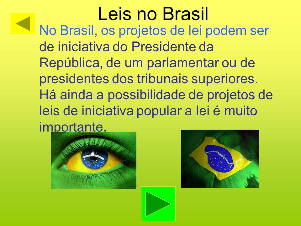 Leis no Brasil