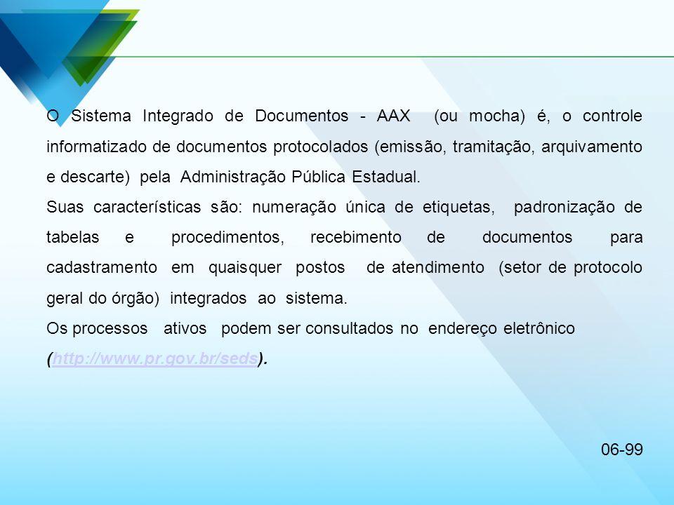 Os processos ativos podem ser consultados no endereço eletrônico