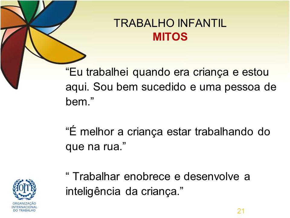 TRABALHO INFANTIL MITOS