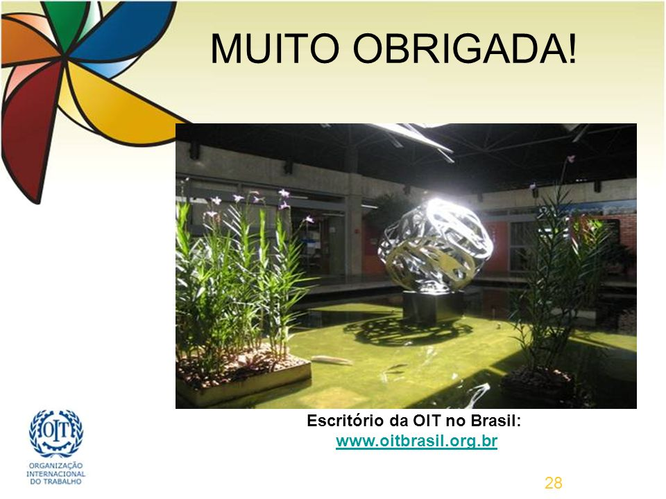 Escritório da OIT no Brasil: