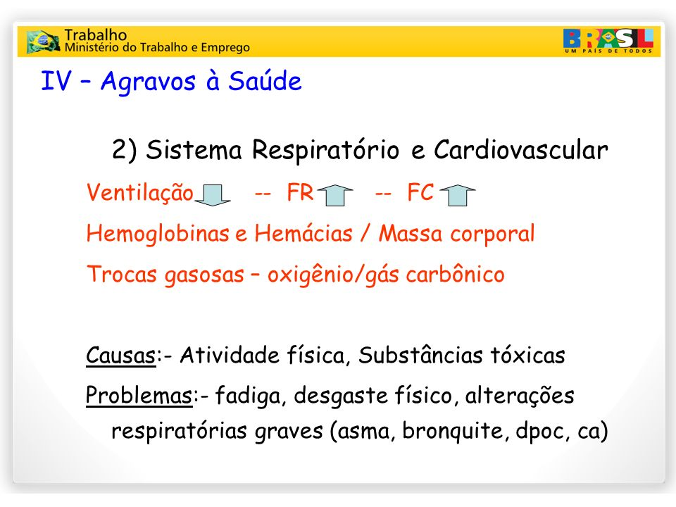 2) Sistema Respiratório e Cardiovascular