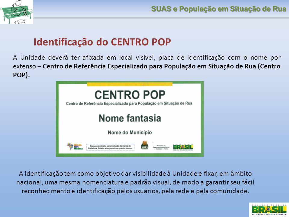Identificação do CENTRO POP