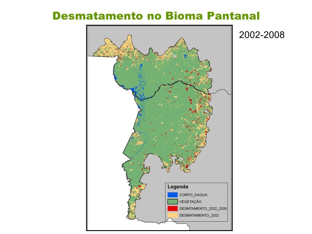 Desmatamento no Bioma Pantanal