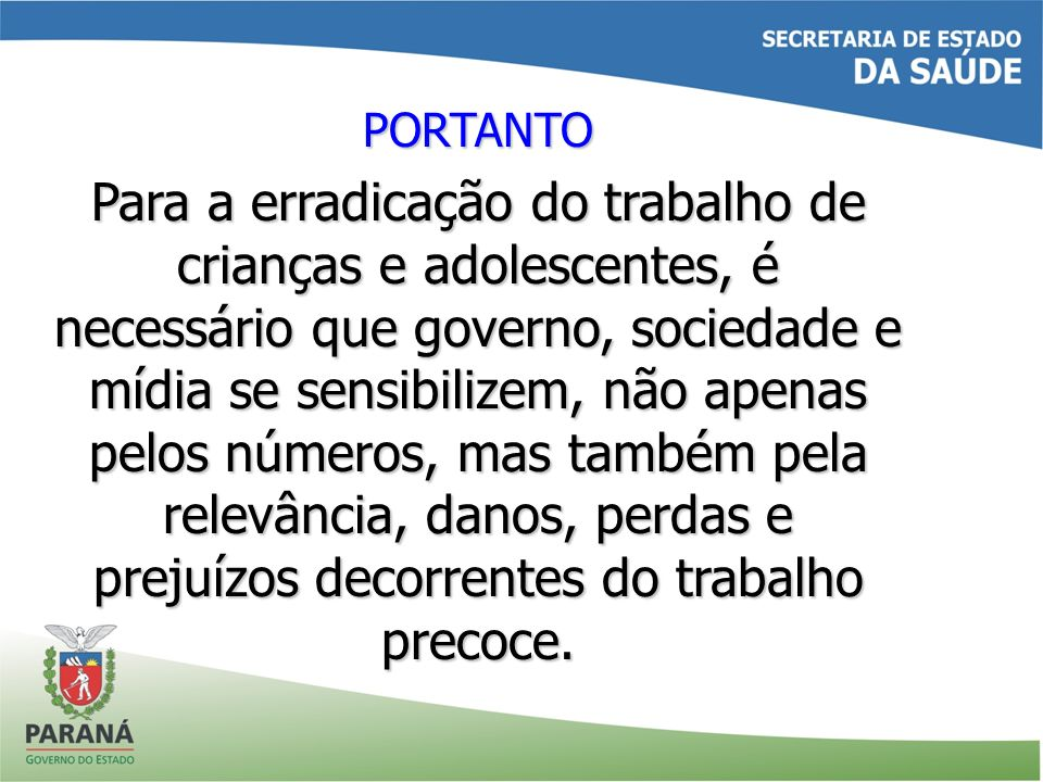 PORTANTO