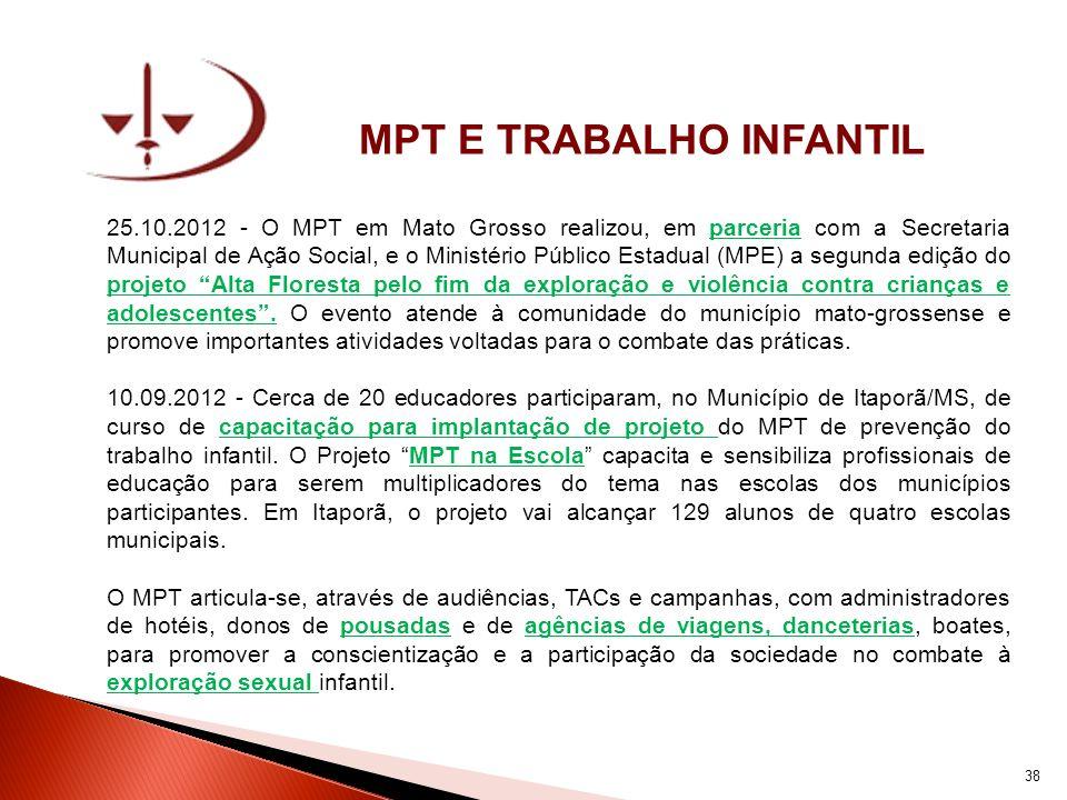 MPT E TRABALHO INFANTIL