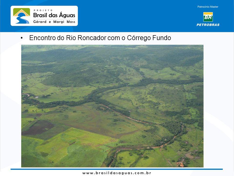 Encontro do Rio Roncador com o Córrego Fundo