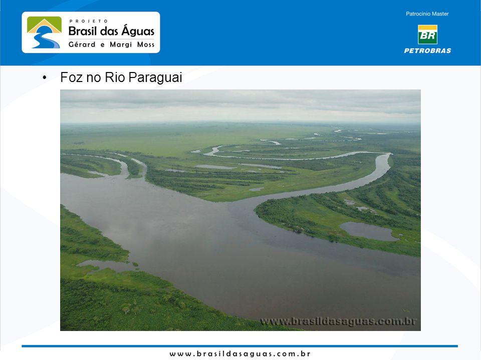 Foz no Rio Paraguai
