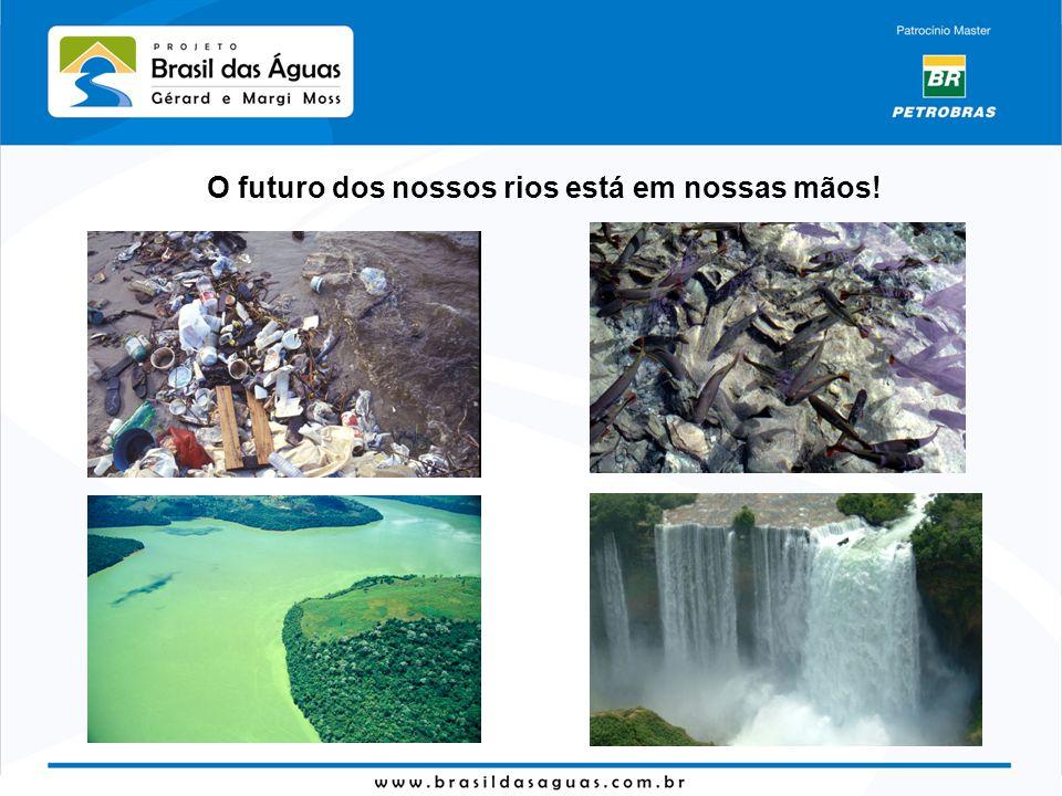 O futuro dos nossos rios está em nossas mãos!