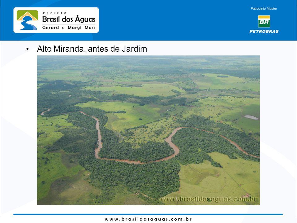 Alto Miranda, antes de Jardim
