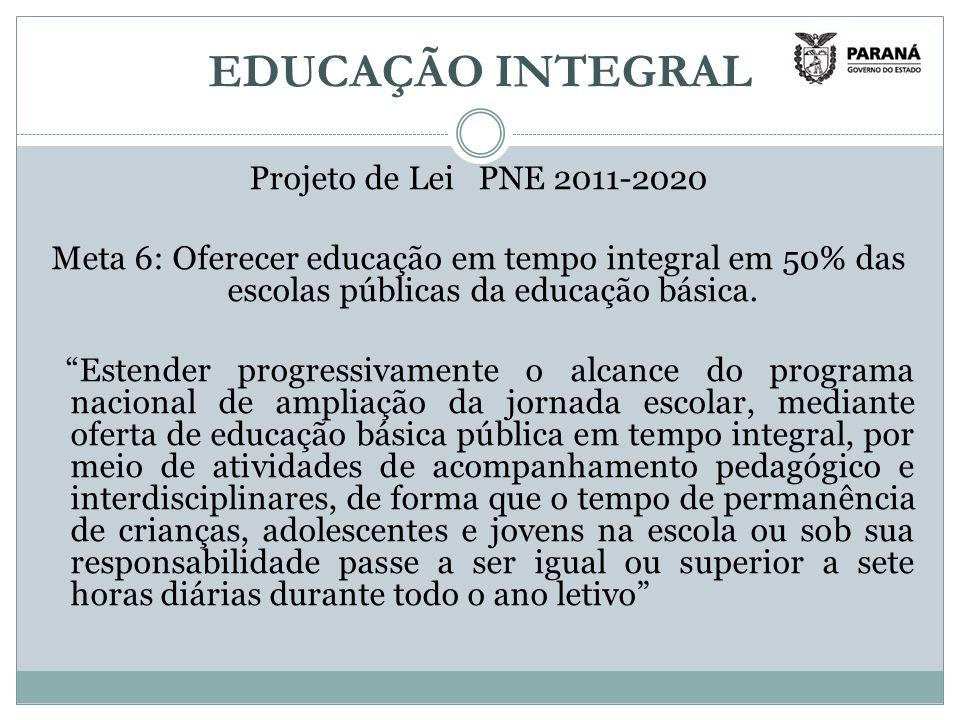 EDUCAÇÃO INTEGRAL