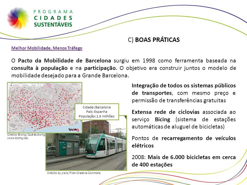 Cidade: Barcelona País: Espanha População: 1.6 milhões