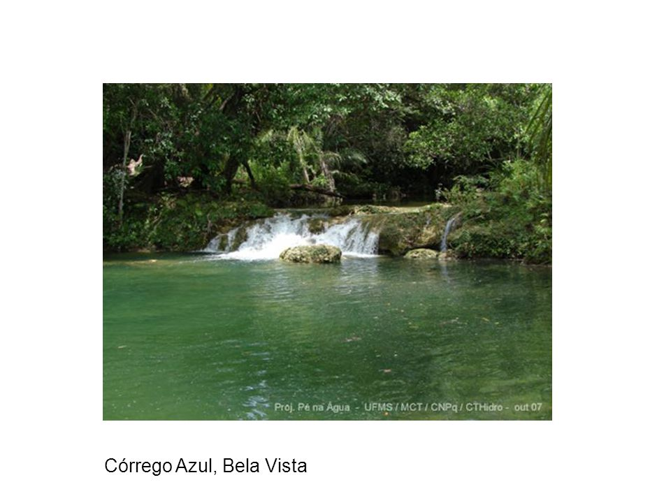 Córrego Azul, Bela Vista