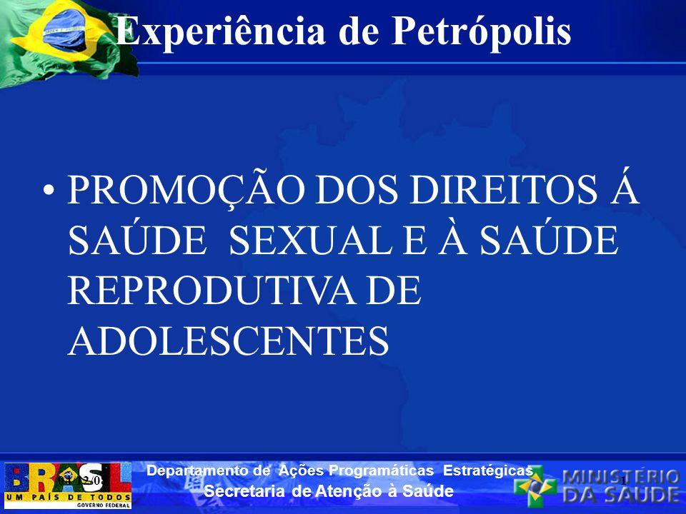 Experiência de Petrópolis