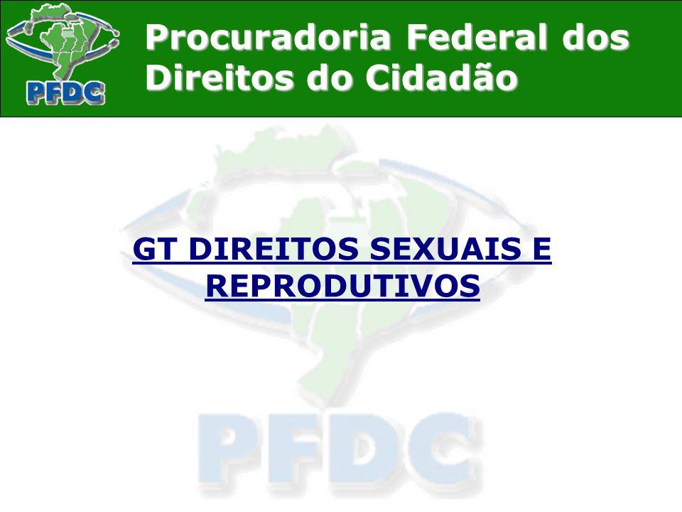 GT DIREITOS SEXUAIS E REPRODUTIVOS