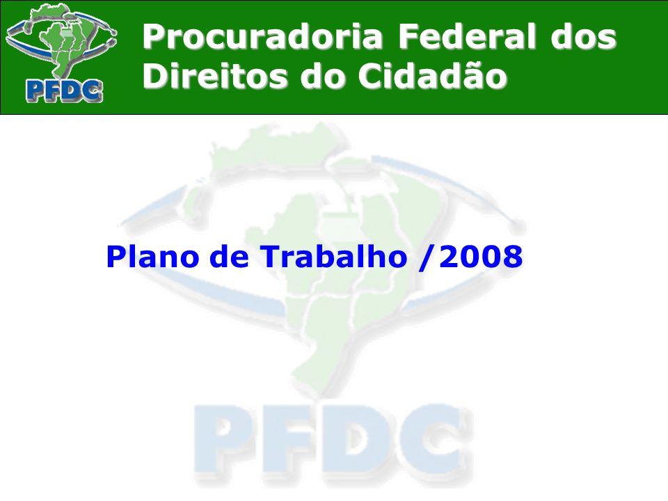 Plano de Trabalho /2008