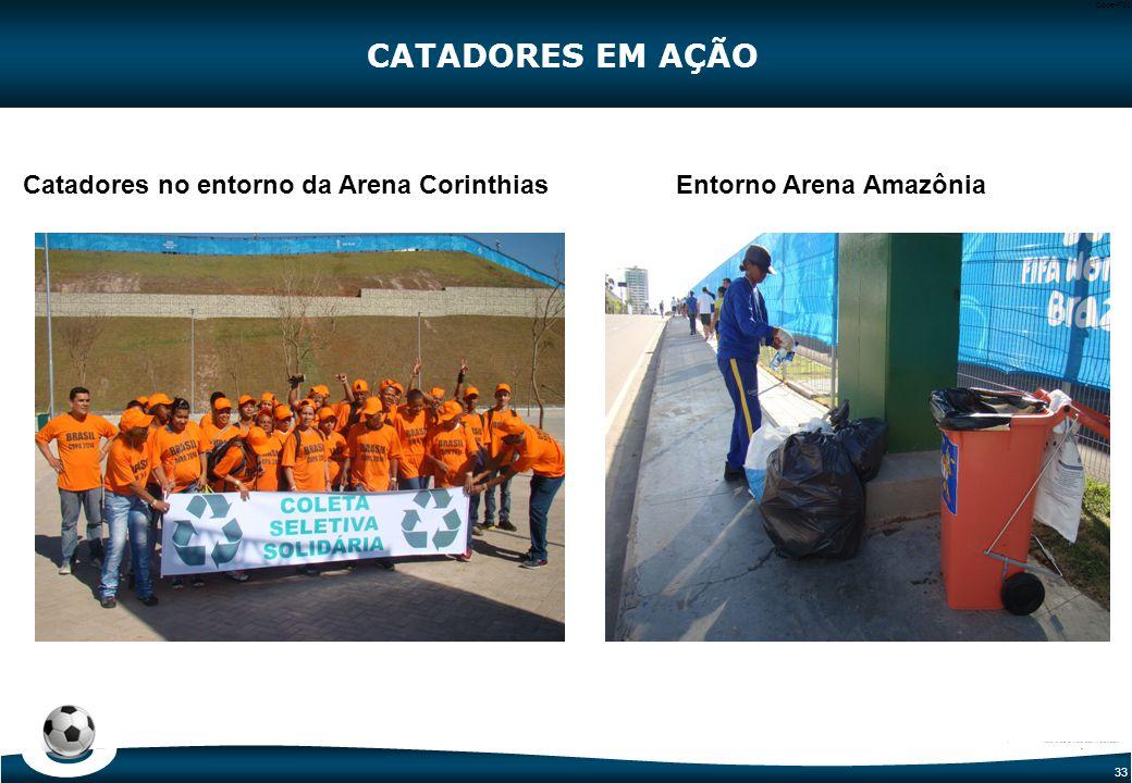 CATADORES EM AÇÃO Tenda para central de resíduos do entorno