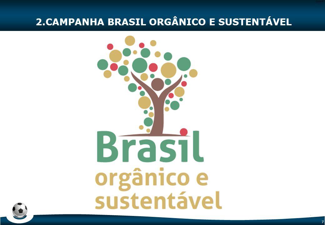 2. CAMPANHA BRASIL ORGÂNICO E SUSTENTÁVEL