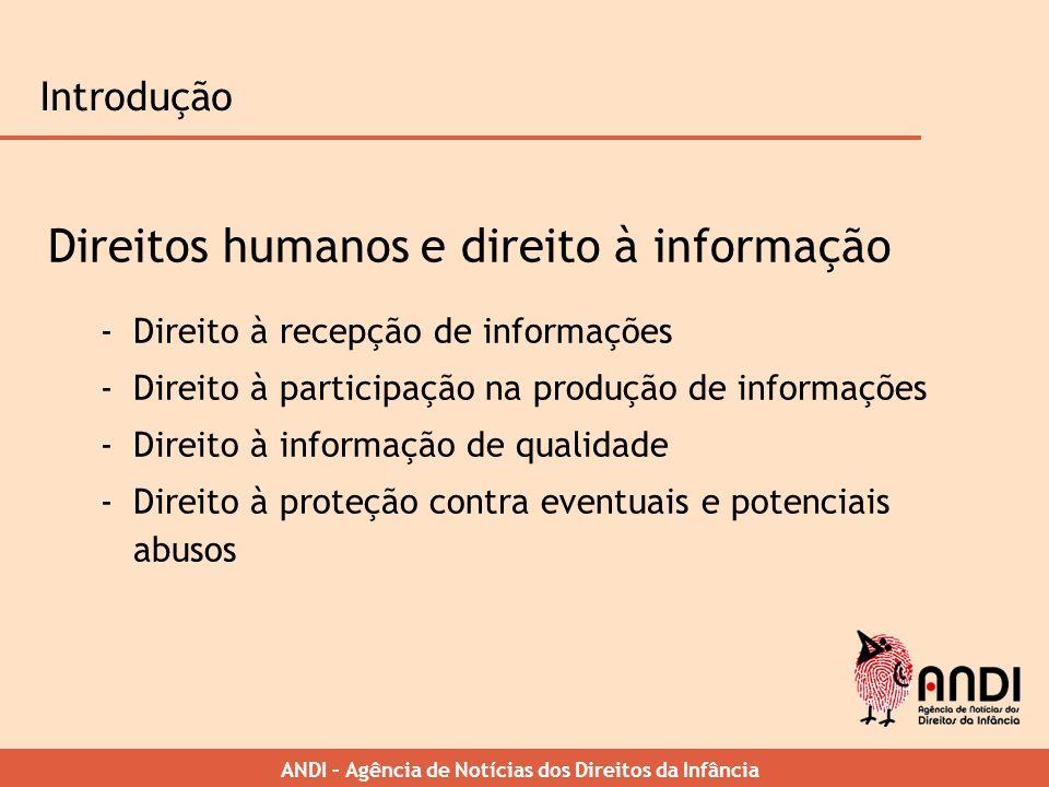 Direitos humanos e direito à informação