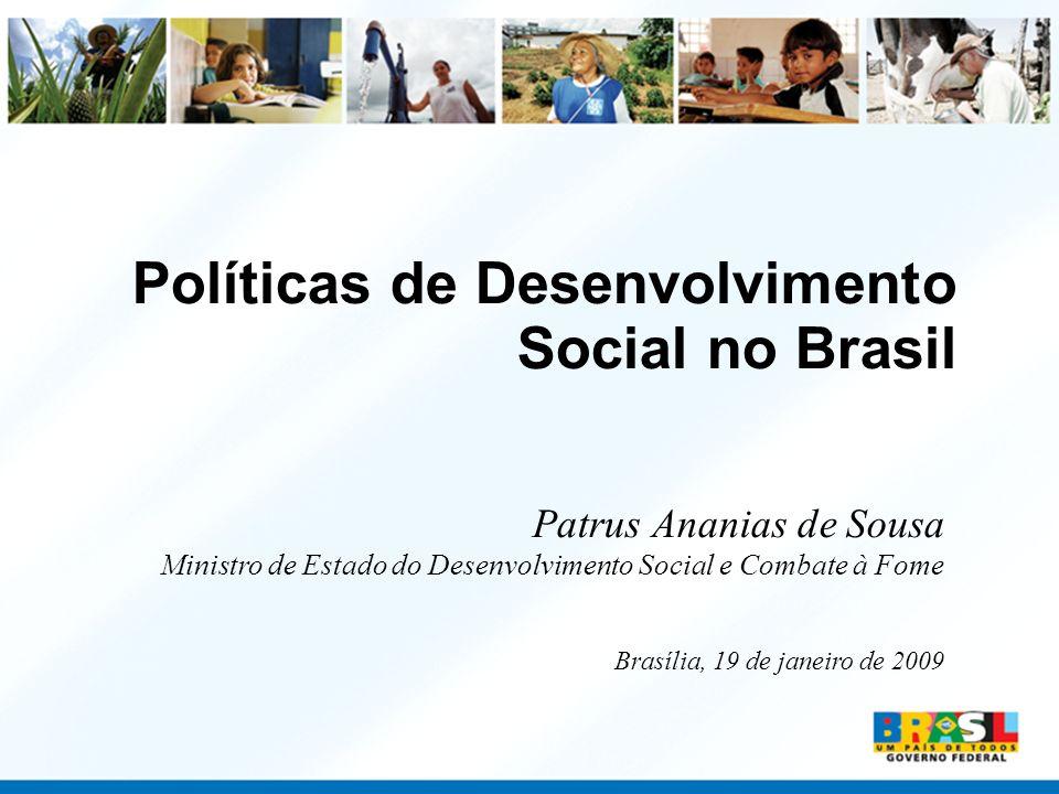 Políticas de Desenvolvimento Social no Brasil