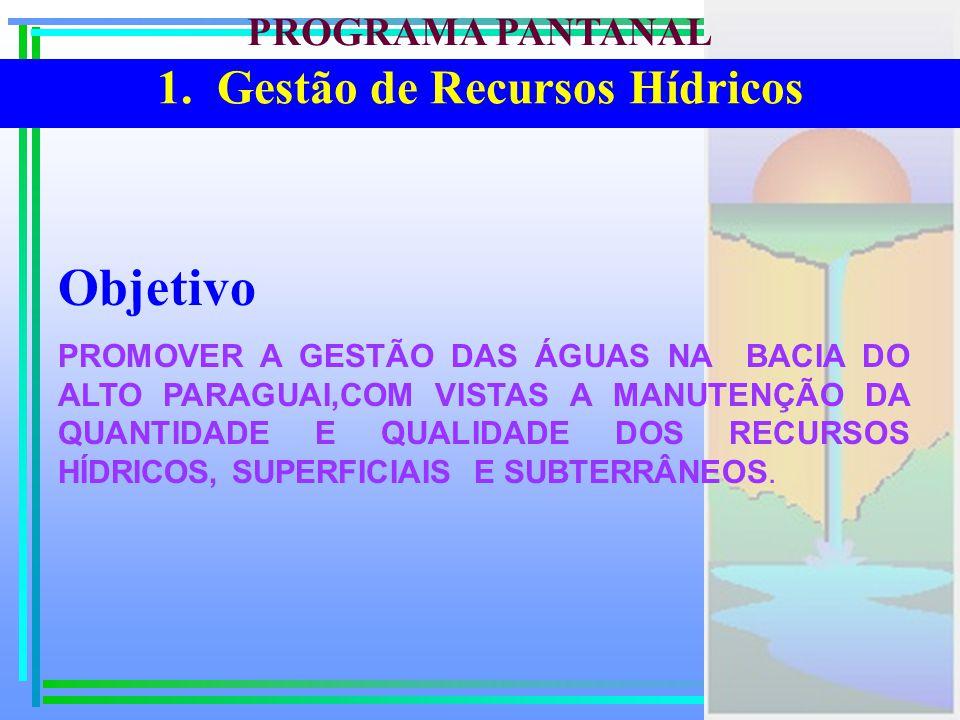 1. Gestão de Recursos Hídricos