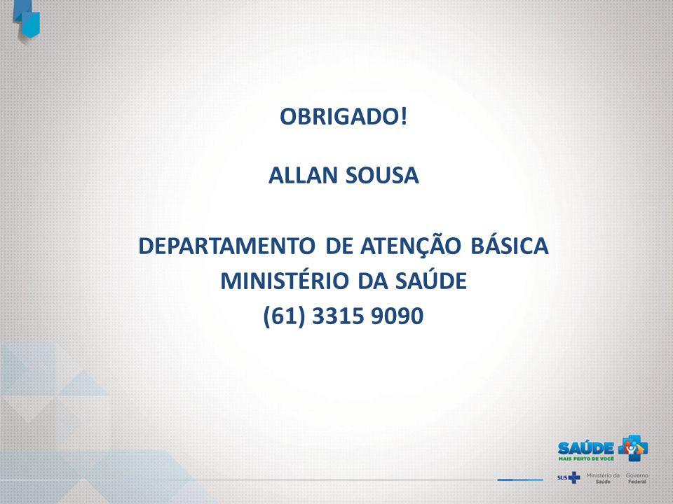 DEPARTAMENTO DE ATENÇÃO BÁSICA