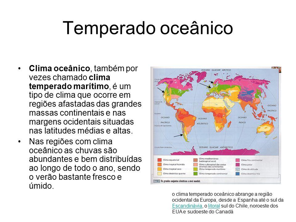Temperado oceânico