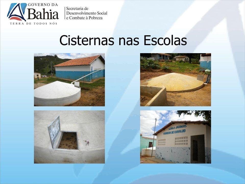 Cisternas nas Escolas