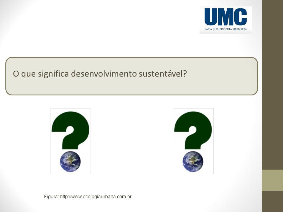 O que significa desenvolvimento sustentável