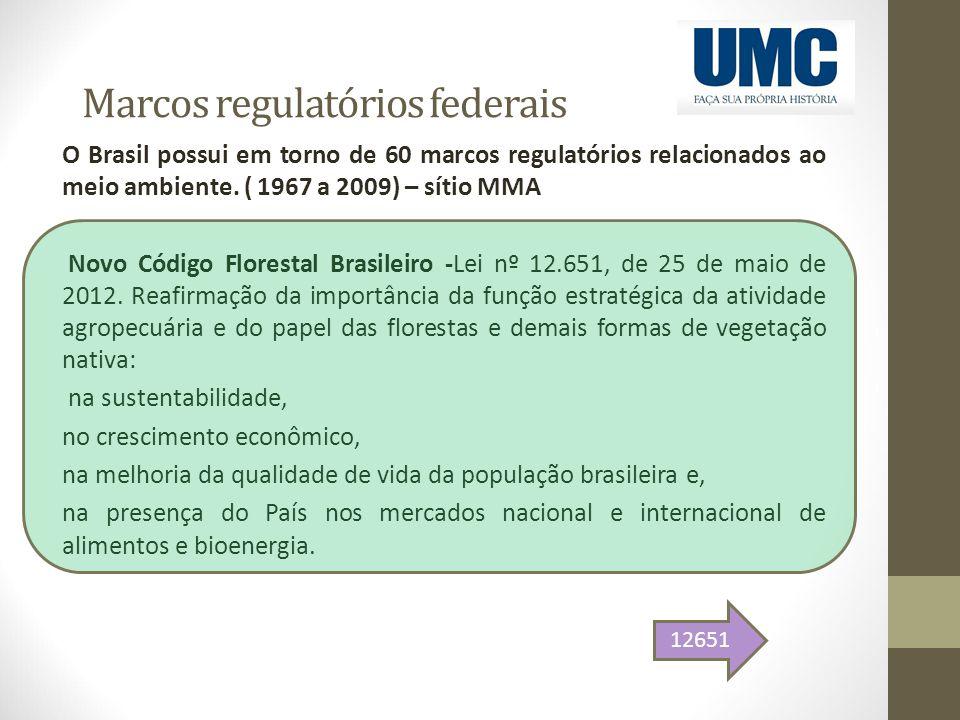 Marcos regulatórios federais