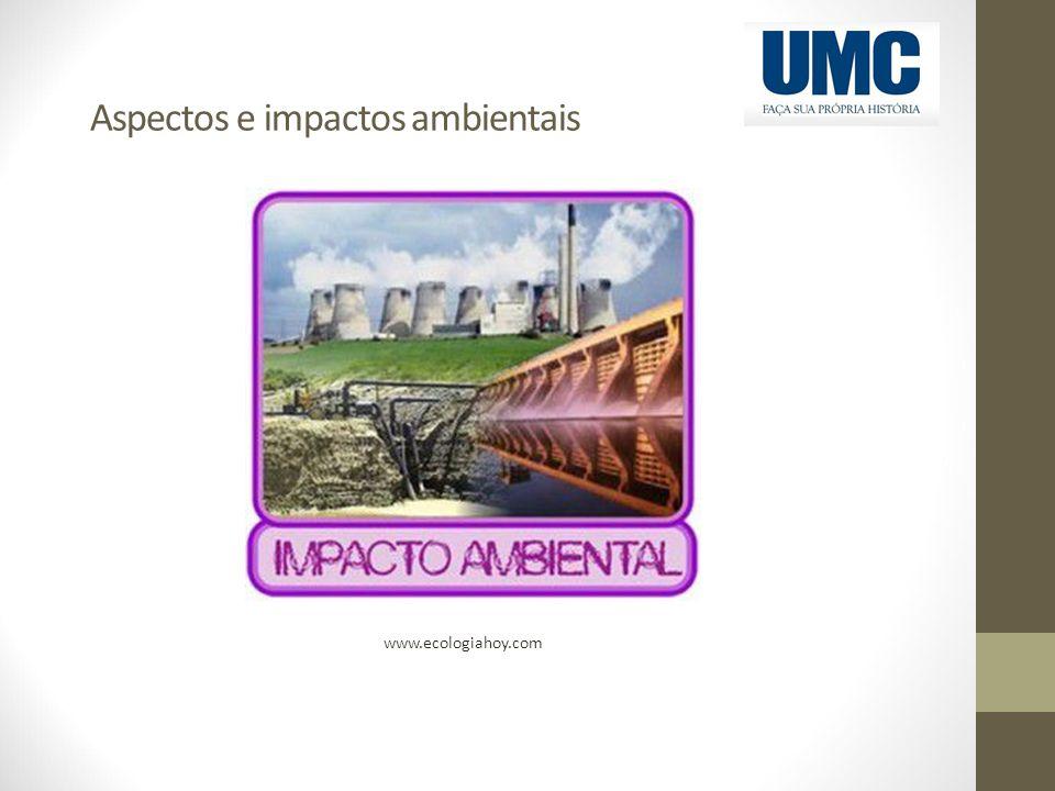 Aspectos e impactos ambientais