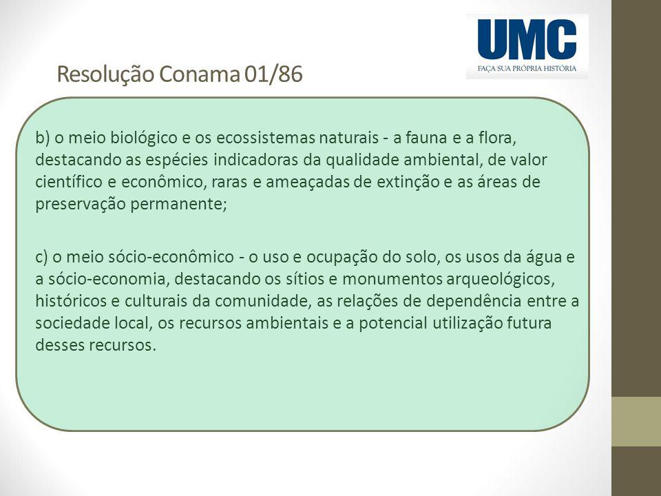 Resolução Conama 01/86