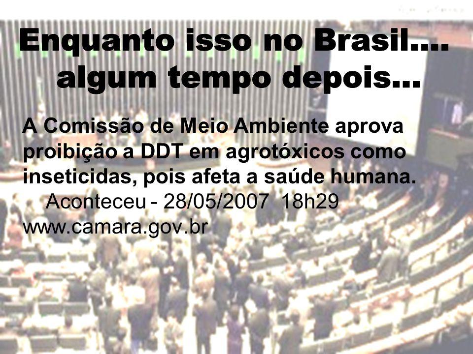 Enquanto isso no Brasil....