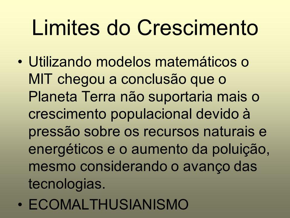 Limites do Crescimento