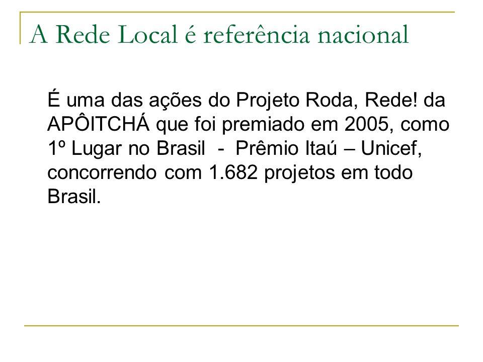 A Rede Local é referência nacional