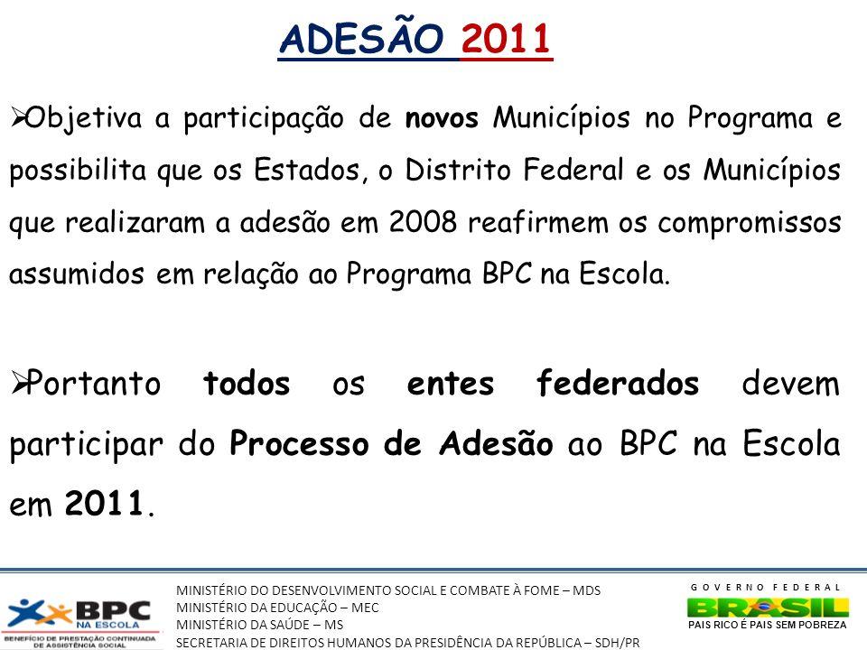 ADESÃO 2011