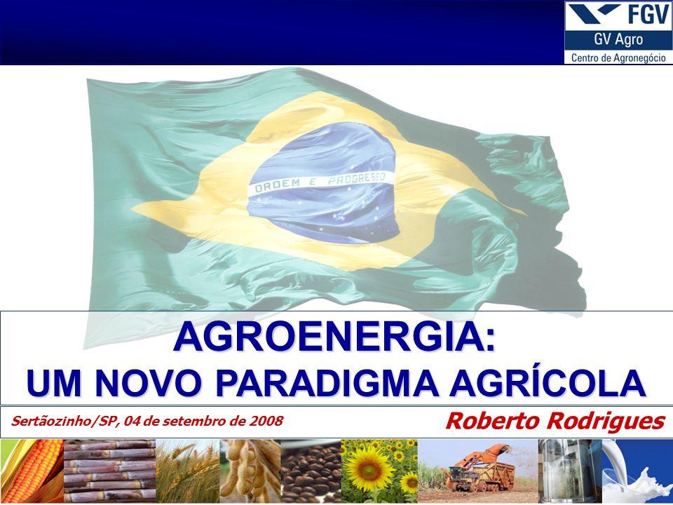 AGROENERGIA: UM NOVO PARADIGMA AGRÍCOLA