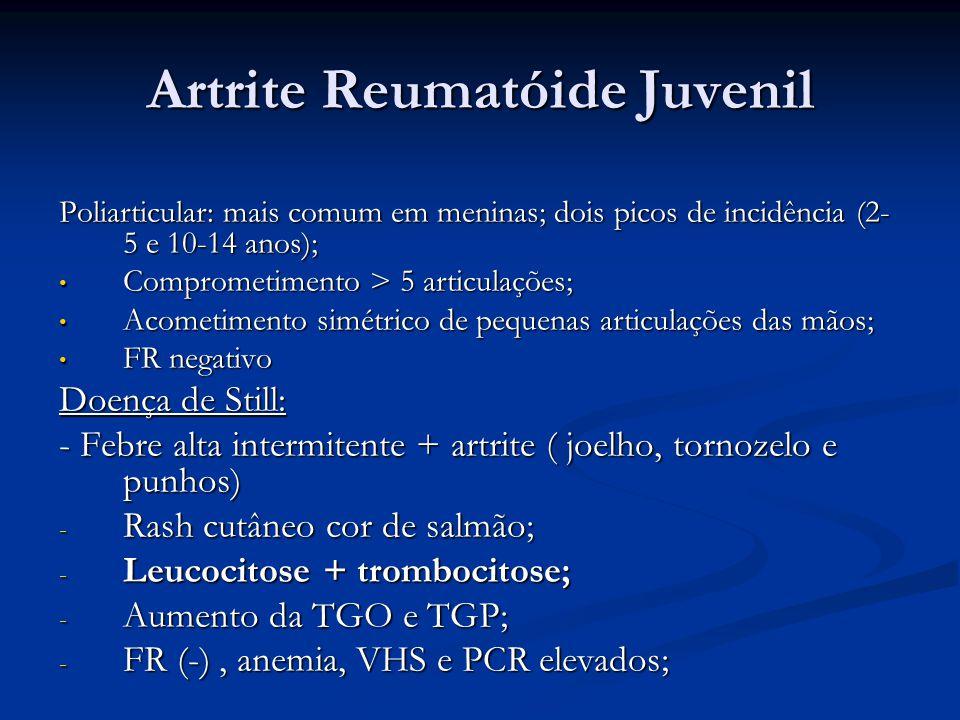 Artrite Reumatóide Juvenil