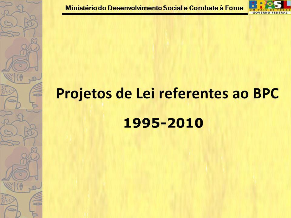 Projetos de Lei referentes ao BPC