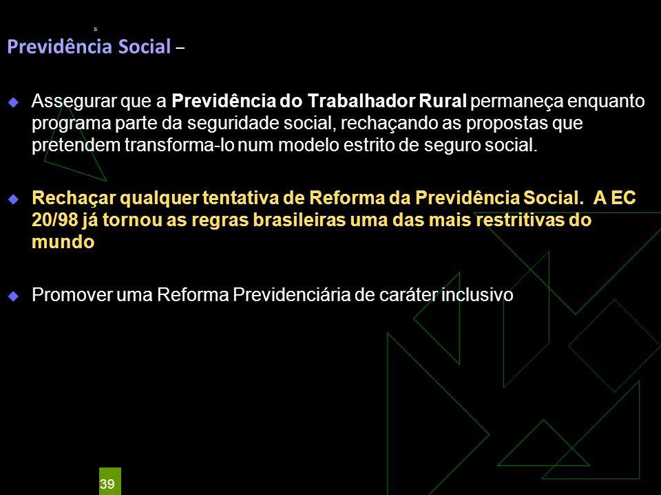 s Previdência Social –