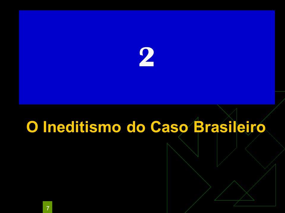 O Ineditismo do Caso Brasileiro