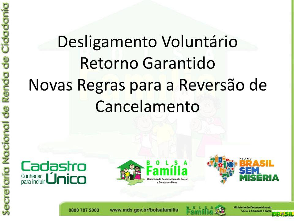 Desligamento Voluntário Retorno Garantido Novas Regras para a Reversão de Cancelamento