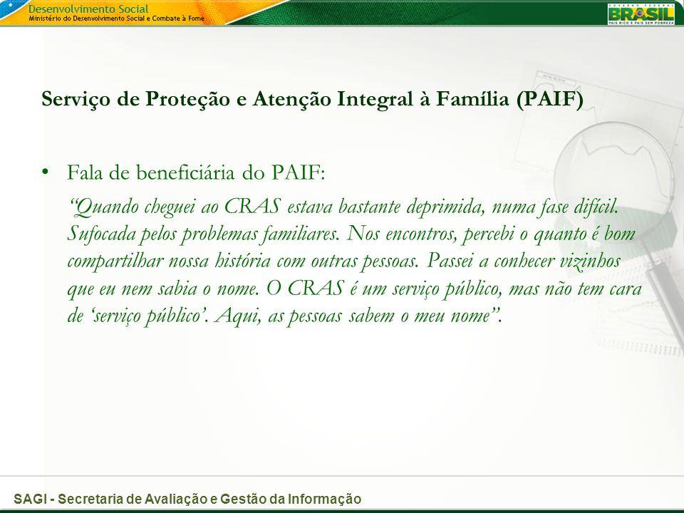 Serviço de Proteção e Atenção Integral à Família (PAIF)