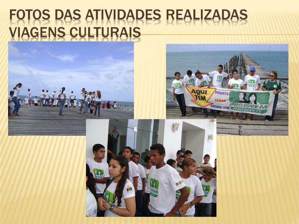 Fotos das atividades realizadas viagens culturais