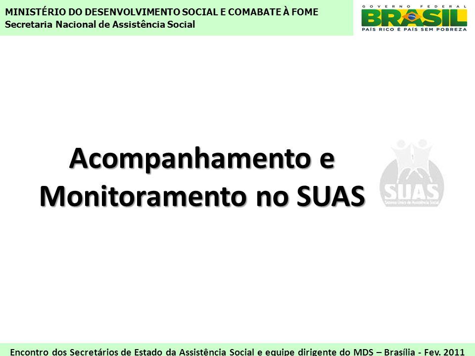 Acompanhamento e Monitoramento no SUAS