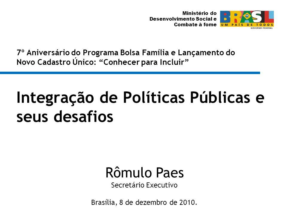 Integração de Políticas Públicas e seus desafios